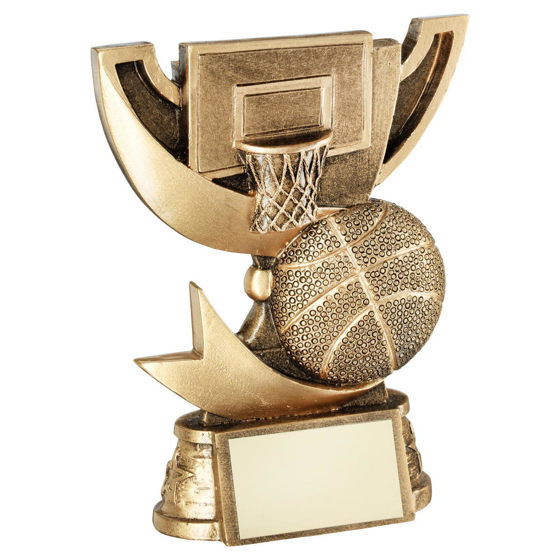 Picture of Brz/gold Cup Range For Basketball Trophy - 5.75in (146mm)