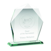 Picture of Jade Glass Heptagon (10mm Thick) - 7.5in (191mm)