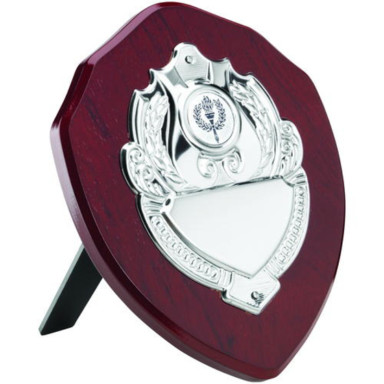Picture of Rosewood Shield With Chrome Front (1in Centre) - 6in (152mm)
