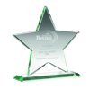 Picture of Jade Glass Star (10mm Thick) - 6.75in (171mm)