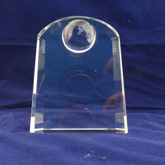 Picture of Arched shape globe award 95mm