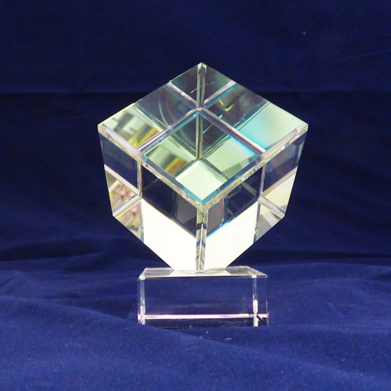 Picture of Cube glass award 110mm