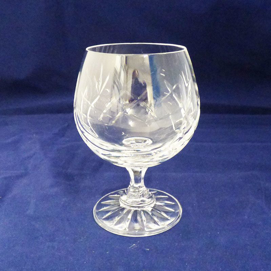 Picture of Small Cut Panel Brandy Glass. 125mm