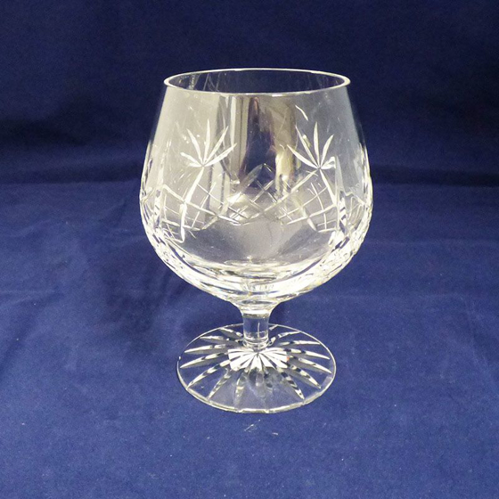 Picture of Large Cut Glass Brandy Glass 125mm