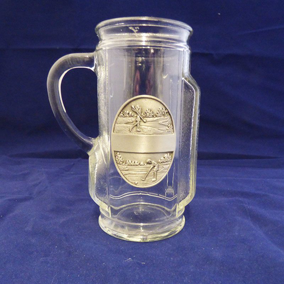 Picture of Glass Golf Bag Tankard - Ladies.