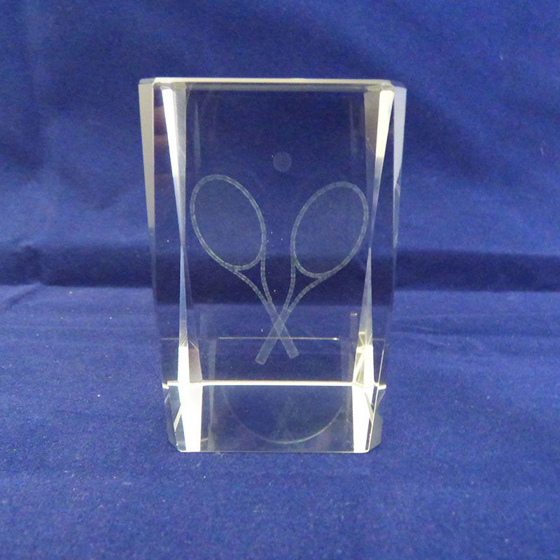 Picture of Tennis Glass Block 78mm