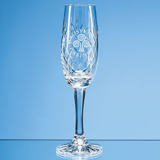 Picture of Glencoe Lead Crystal Panel Champagne Flute 165ml