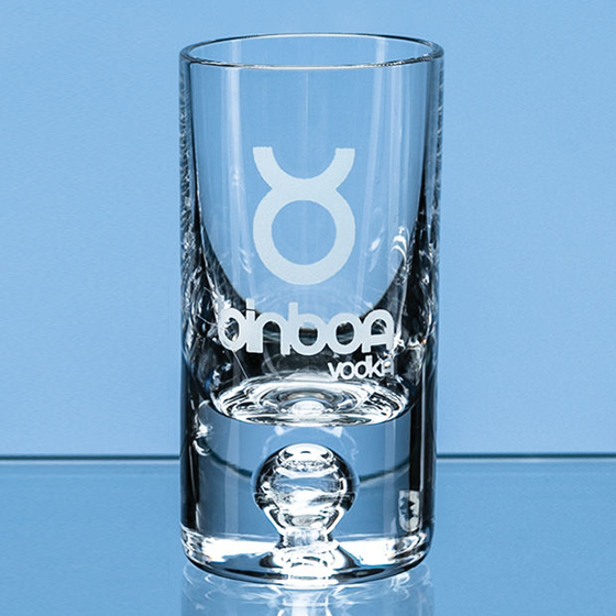 Picture of Tall Bubble Base Shot Glass 30ml