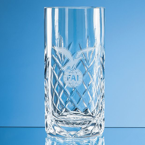 Picture of Glencoe Lead Crystal Panel High Ball 400ml
