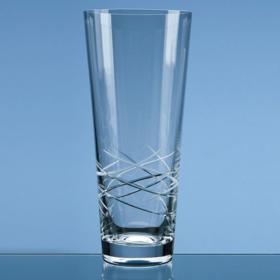 Picture of Tiesto Cut Conical Vase 25cm