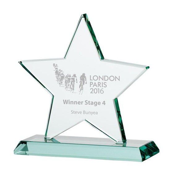 Picture of Galaxy Star Jade Crystal Award 155mm
