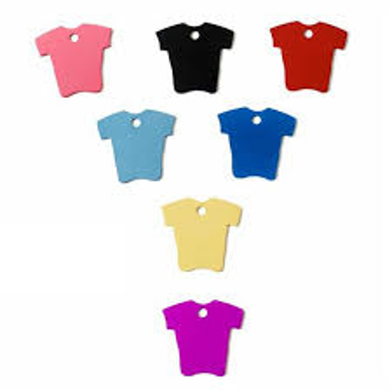 Picture of ''t'' Shirt Sports Tag 34 mm