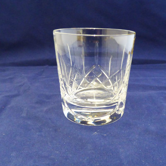 Picture of Cut Panel Whisky Glass - Crystalite