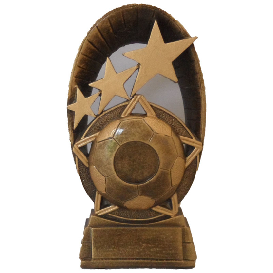 Picture of Oval Football Star Award 160mm