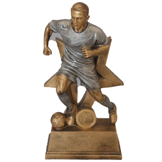 Picture of Male Running Footballer Star Award 275mm