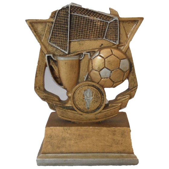 Picture of Football Cup Ball and Net Award 145mm
