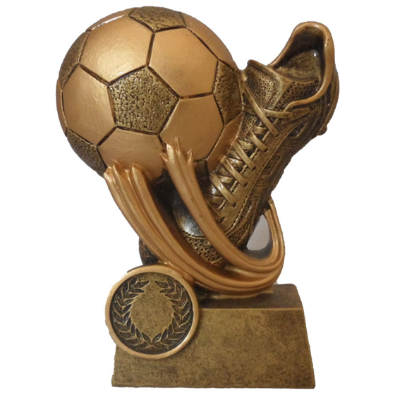 Picture of Swoosh Football and Boot Award 140mm