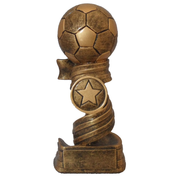 Picture of Football Ribbon Award 140mm