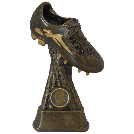 Picture of Football Boot on Netted Pedestal 220mm