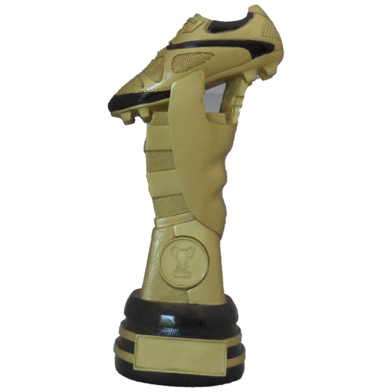 Picture of Football Boot on Tall Pedestal  230mm