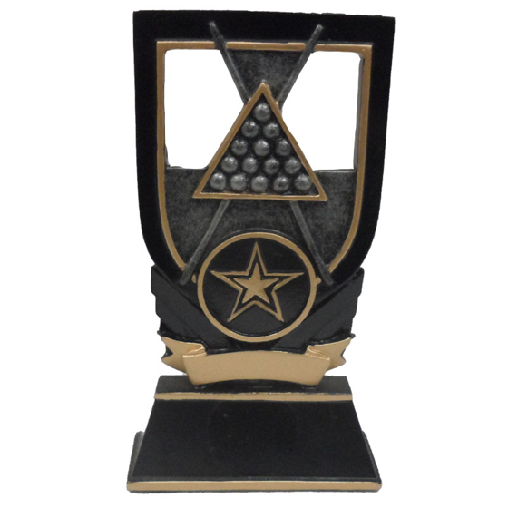 Picture of Snooker/Pool Balls & Cue Award 125mm