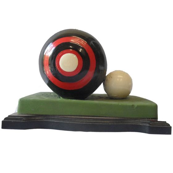 Picture of Bowling Ball and Jack on the green 120mm