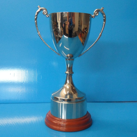 Picture of Nickel-Plated Staffordshire Cup 215mm.