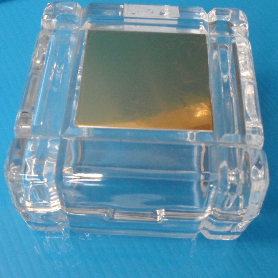 Picture of Glass Trinket box with engraved plate