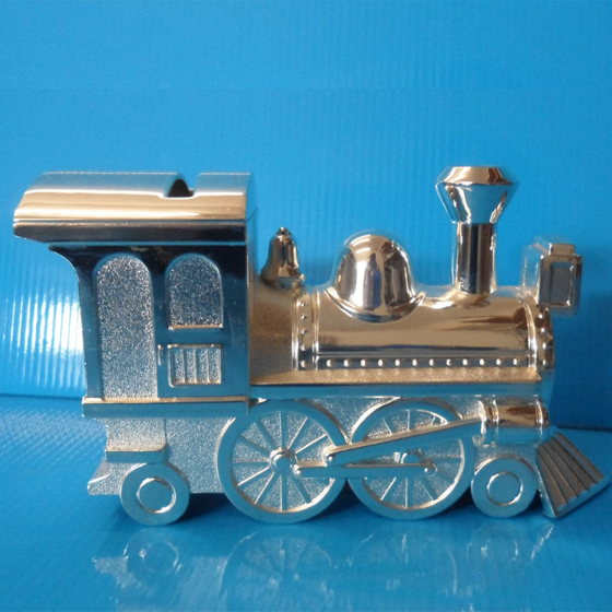 Picture of Silver Train Money Box h80mm x w155mm