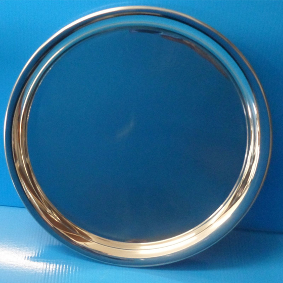 Picture of Plain pewter tray dish 240mm