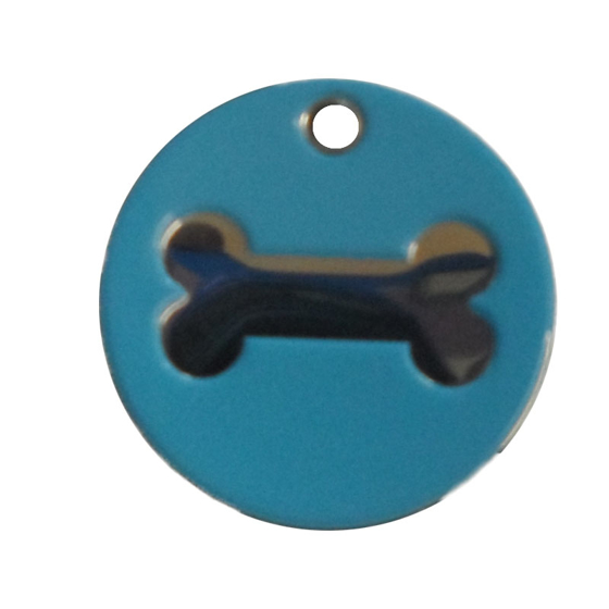 Picture of Enamelled Bone Pet Tags 25 mm