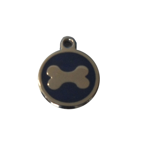 Picture of Enamelled Bone Pet Tags 20 mm