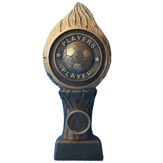 Picture of Football Flame Pedestal Award Players Player 205mm