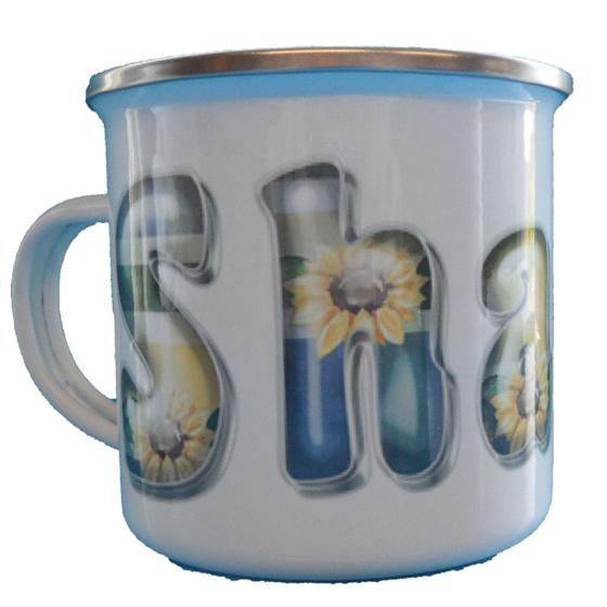 Picture of Enamel 10oz Photo Mug